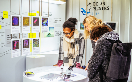 The Ocean Plastics Lab in Paris