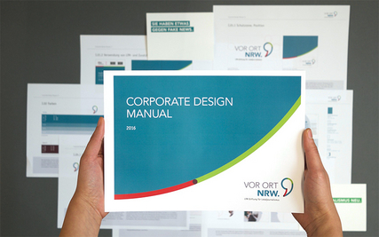 "Corporate Design-Manual der Stiftung ""Vor Ort NRW"""