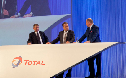 Talk beim TOTAL Partnerforum 2012